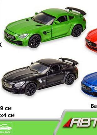 Металлическая машина Автопром 7846 1:32 Mercedes-AMG GT R, 4 цвет