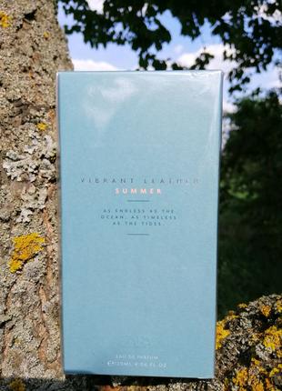Мужская парфюмерная вода Zara Vibrant leather Summer