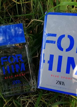 Мужская туалетная вода Zara For Him Blue Sport