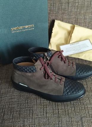 Новые полуботинки pakerson, италия премиум ботинки сникерсы