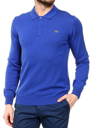 Мужская синяя кофта Lacoste