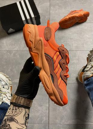 Кроссовки Adidas Ozweego Orange Red