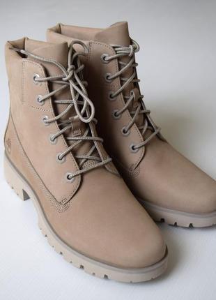 Кожаные ботинки timberland оригинал!