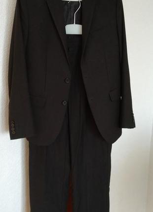 Школьная форма, костюм на школьника пиджак штаны брюки 10-11лет