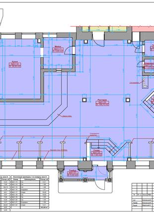 Предлагаю услуги обмеры помещений, зданий обміри Дизайн интерьера