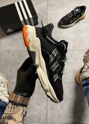 Кроссовки Adidas Ozweego Black Beige