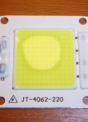 LED Матрица светодиодная, 35вт 35w, 220 вольт, прожектор чип