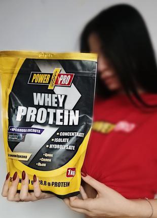 Протеин PowerPro Whey 1 кг