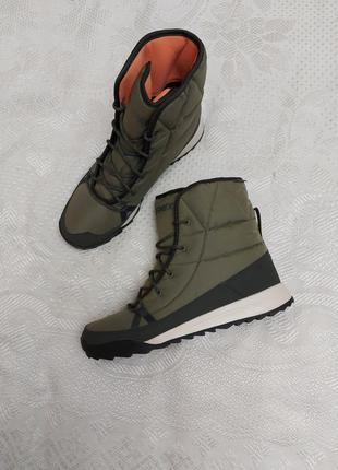 Спортивные зимние сапоги adidas новые, оригинал
