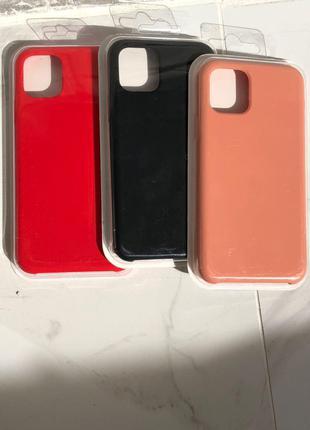 Чехол на Iphone/7/8/XS/Max/11/Silicone Case/Айфон