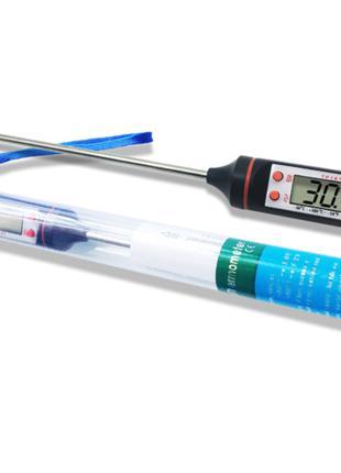 Термометр кухонный пищевой LCD TP101 -50+300 с щупом