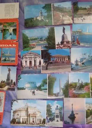 Набор открыток Севастополь (11 шт), 25 лет Победы