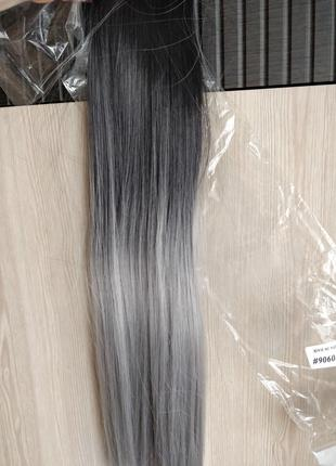 Волосы на заколках Трессы Омбре