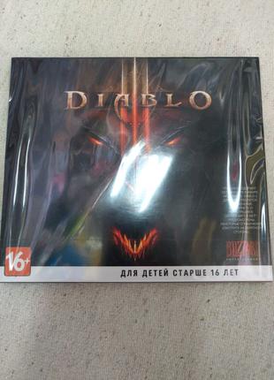 Игра Diablo 3 лицензионный диск для PC / ПК