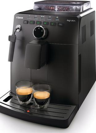 Кофемашина кофеварка Philips Saeco Intuita Black
