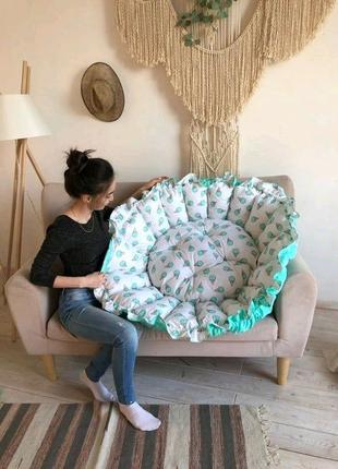 кокон для ребенка, спальное место,  коврик-манеж