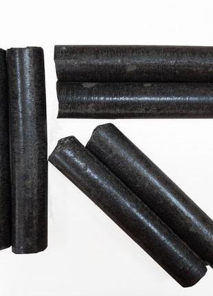 Топливные брикеты из (лузги шелухи) подсолнечника 1 тонна