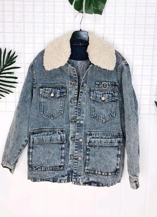 Женская джинсовая куртка. Джинсовка.