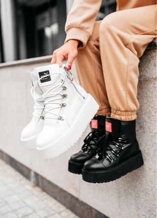 "Puma X Fenty by Rihhana Sneaker Boot ""Black/White 36-41p"