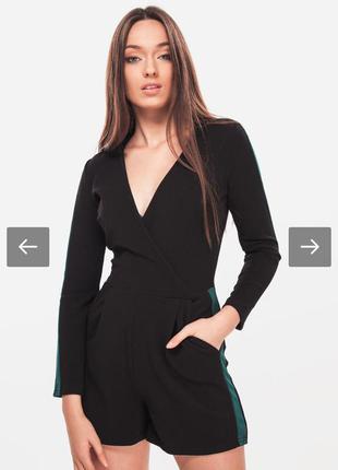 Стильный женский комбинезон с шортами jennyfer