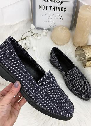 Базовые замшевые туфли лоферы. люкс качество