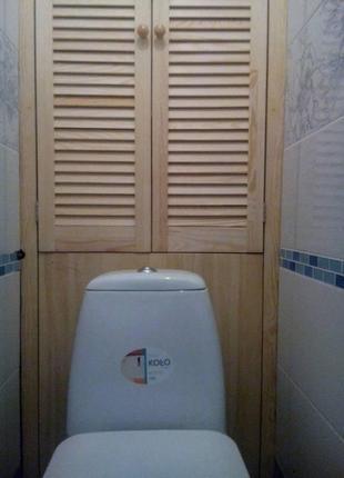 Шкаф в туалет