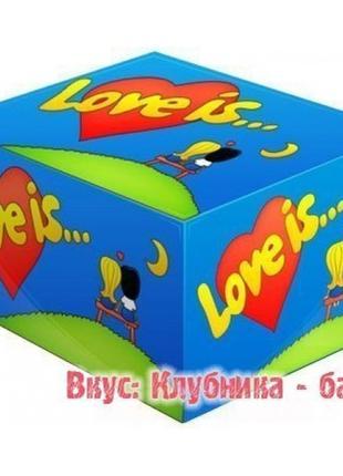 Жвачки Love is жевательная резинка лове ис 5 вкусов