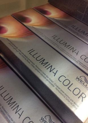 Профессиональная краска для волос Wella Illumina color