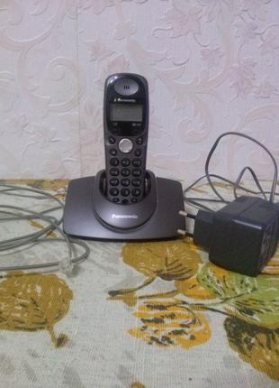 Телефон PANASONIC KX-TG1107UA , цифровой беспроводной