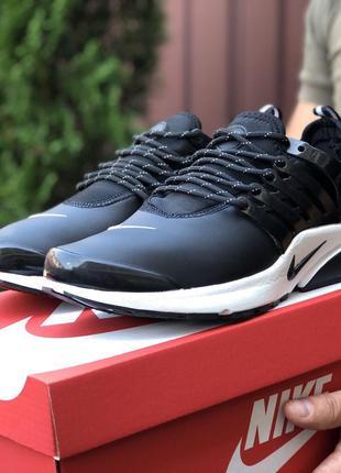 Стильные и модные кроссовки Nike Air Presto (черно\белые)