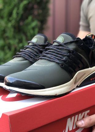 Стильные и модные кроссовки Nike Air Presto (хаки)