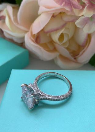 Шикарное кольцо в стиле tiffany & co😍💖
