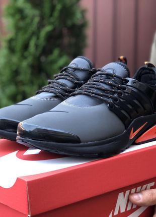 Стильные и модные кроссовки Nike Air Presto (серые)