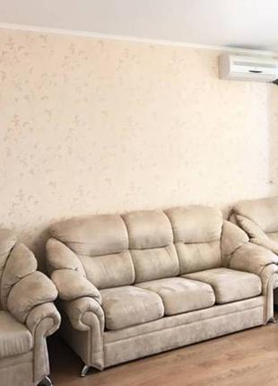 Аренда 2-комнатная квартира на Осокорках.