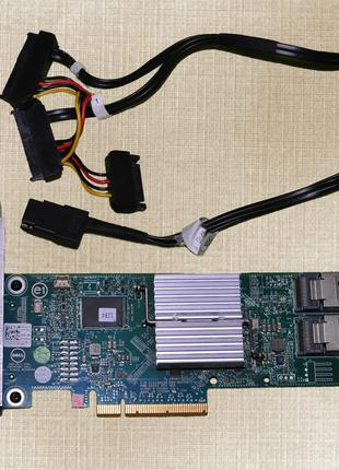RAID-контроллер Dell PERC H310 + 2 кабелі