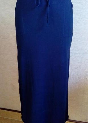 Длинная юбка спортивного стиля на 50-56 размер