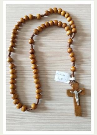 Чётки христианские с крестом
