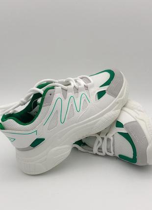 Женские кроссовки белые стильные 36, 37, 38, 39, 40