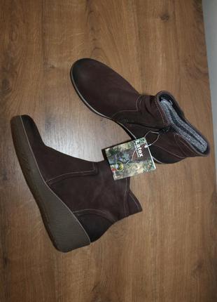 Кожаные ботинки ecco, 42 размер