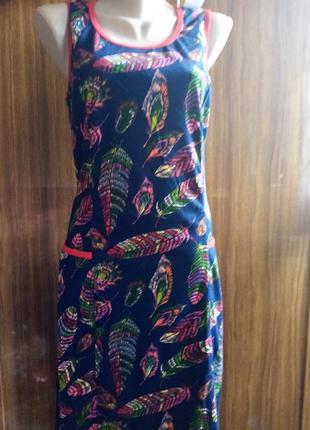 платье женское р/р 46,48,50,52,54,56,100% хлопок,Украина.