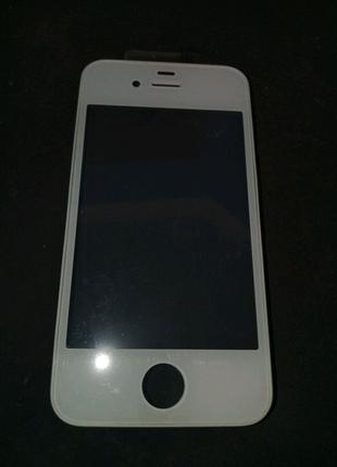 Тачскрин сенсорный экран iphone 4S, белый