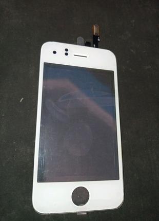 Сенсорный экран тачскрин iphone 3G белый