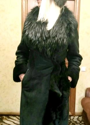 Стильная женская  дубленка из Турции.