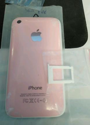 Задняя крышка iphone 3gs 8gb с сим-лотком белая