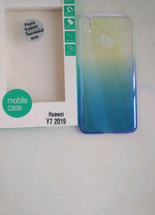 Чехол на телефон huawei y7 2019