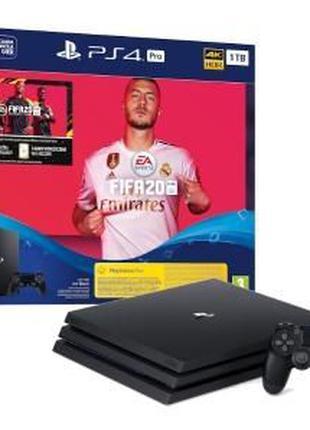 Sony PlayStation 4 Pro+Fifa 20/Гарантія 1 рік