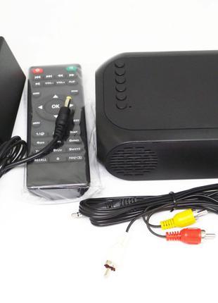Мини проектор портативный мультимедийный Led Projector YG320C Min