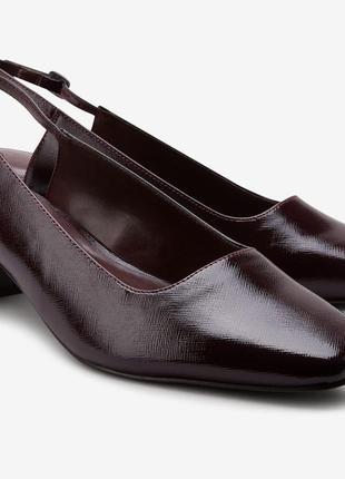 Новые туфли next устойчивый каблук