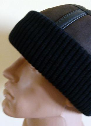 Зимняя шапка из натуральной овчины