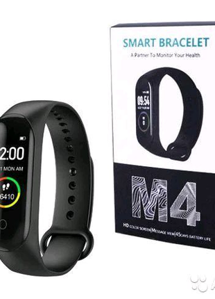 Фитнес браслет Xiaomi Mi Band M4, фитнес трекер Smart Band